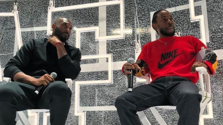 Complex's second annual ComplexCon took place this weekend in Long Beach and one of the highlights of the two-day event was LA's own Kendrick Lamar and Kobe Bryant sitting down for an interview with Jinx.  They talk everything from basketball to rapping, being great and their competitive nature of each sport and a whole lot more.  Watch the full interview below.  https://www.youtube.   #complexcon #kendrick lamar #kobe bryant