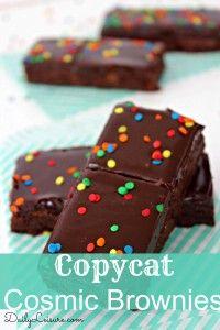 Copycat Cosmic Brownies - Daily Leisure