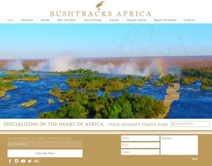 Exciting news for Bushtracks Africa - after nearly a year in the making we have launched our brand new website!!http://www.bushtracksafrica.com:D It contains information and photographs of all of our partner properties in Zimbabwe Zambia Botswana as well as our regional add-on destinations in Cape Town Mozambique & Malawi! Best of all you can chat to a representative directly from the home page and you can read all of our latest travel updates and blog posts. Please do let us know what you…