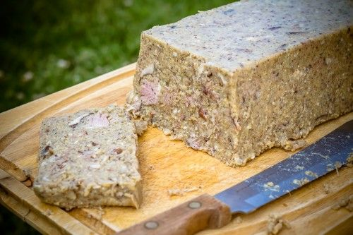 Scrapple - from a pigs head if you're brave enough