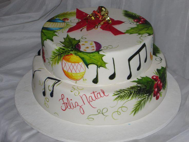 Cake Artista : Bolo pintado a mao por Fatima Correa - artista plastica ...