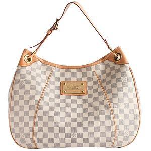 Louis Vuitton Damier Azur Galliera PM Shoulder Handbag