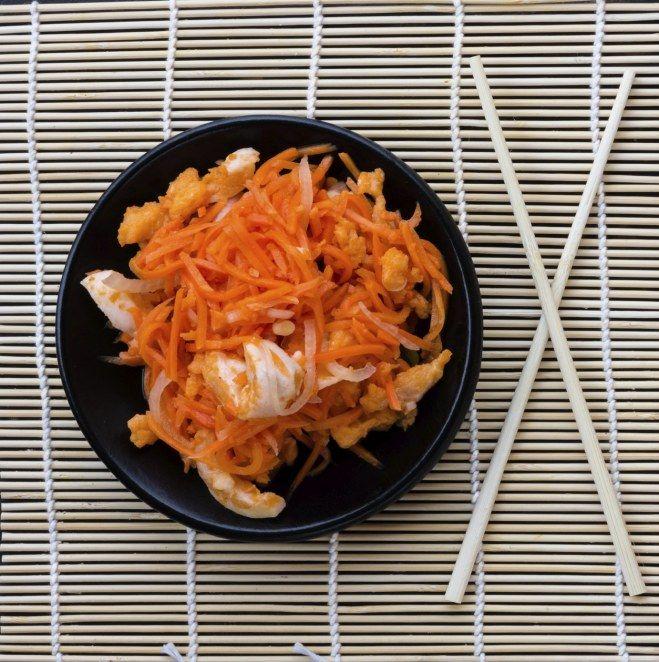 Les carottes, à manger crues