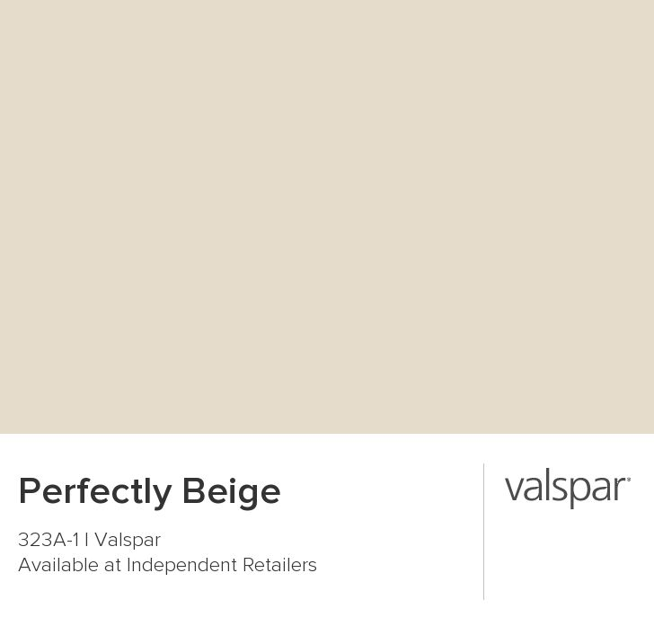 Perfectly Beige from Valspar