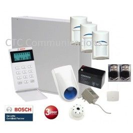 Bosch Solution 3000 Alarm System with 3 x Wireless Detector+ Icon Code pad…