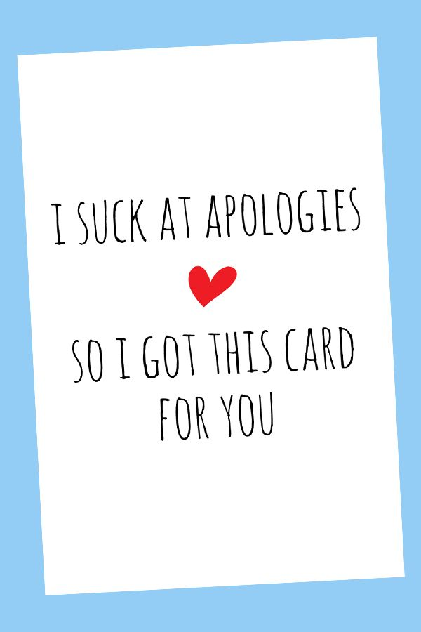 It's just a photo of Printable Sorry Cards throughout misunderstanding
