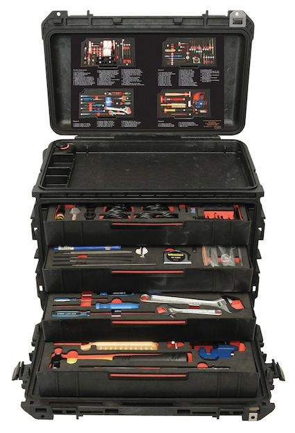 Otis Small Arm's Armorer's Tool Case | Tactical Life.... For when you are not smart enough to make your own (or too lazy?) and happen to have WAY too much money to spend on your took kit?  This IS probably the best option..