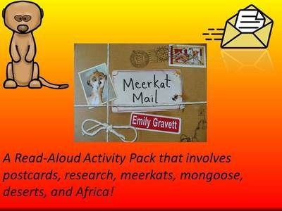 Meerkat Mail Activity Packet from Everyday Adventures on TeachersNotebook.com (10 pages)