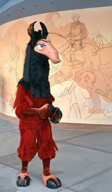 """The Emperor's New Groove"" - Kuzco in his llama form!!! So cool."
