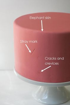 THIS IS THE TUTORIAL I'VE BEEN WAITING FOR! How to repair cracks and elephant skin in fondant after you've already covered the cake
