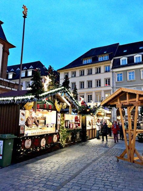 The beautiful Heidelberg Christmas Market