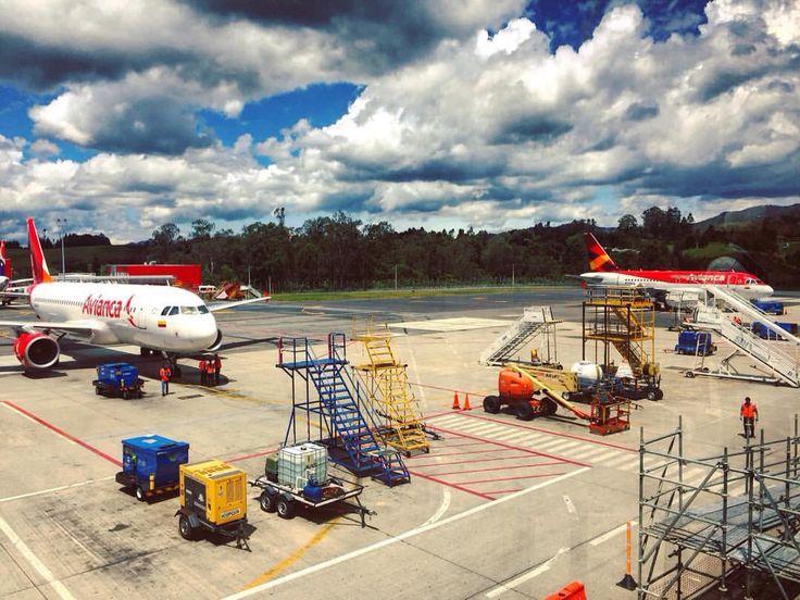 Aeropuerto, AirPort, Avión, Plane, Airplane, Aviones, Planes, Nubes, Clouds, Rionegro, Medellín, Antioquia, Colombia
