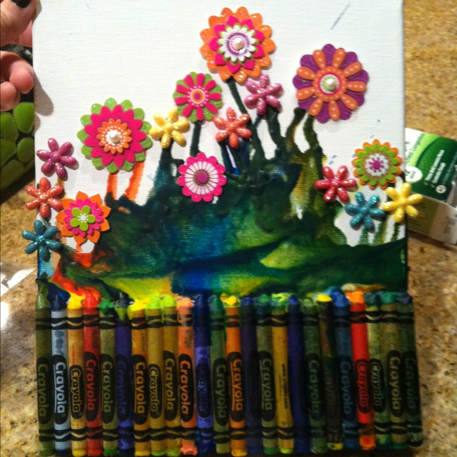 Melted crayon :)