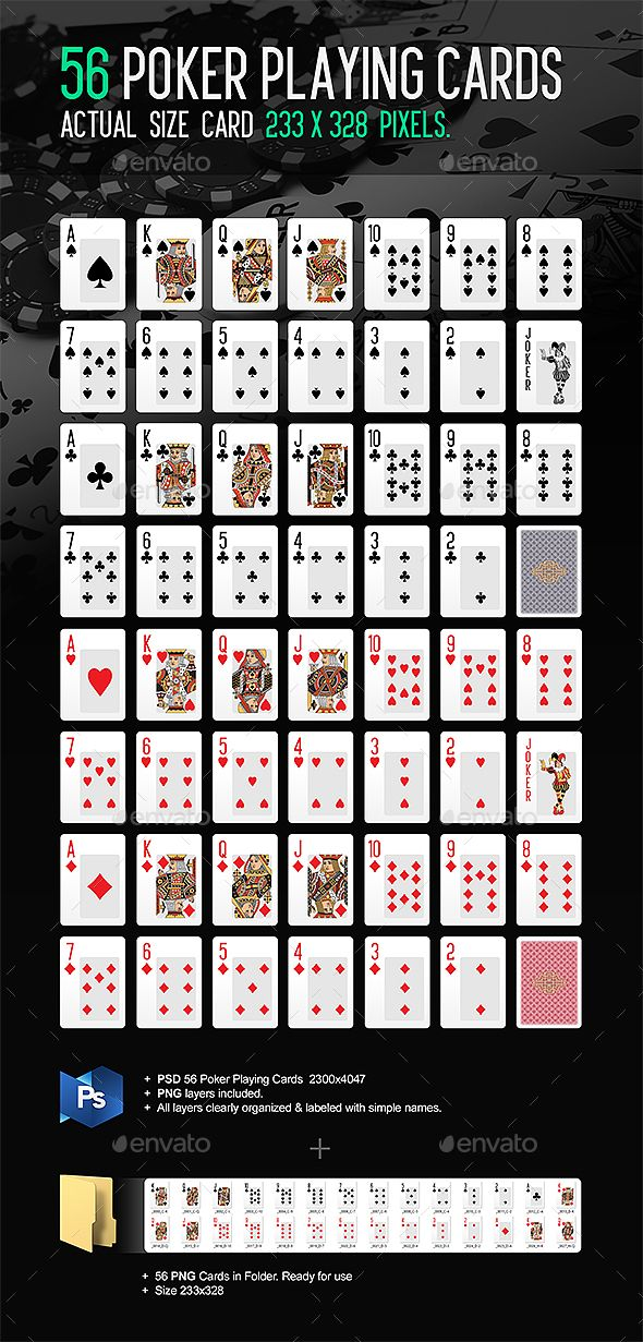 Poker Playing Cards, black jack, card games, card suits, cards, casino, casino cards, casino games, classic playing cards, clubs, diamond, gambling, games, heart, online casino, playing card, playing cards, poker, poker cards, psd, sards table games, shirt card, spades
