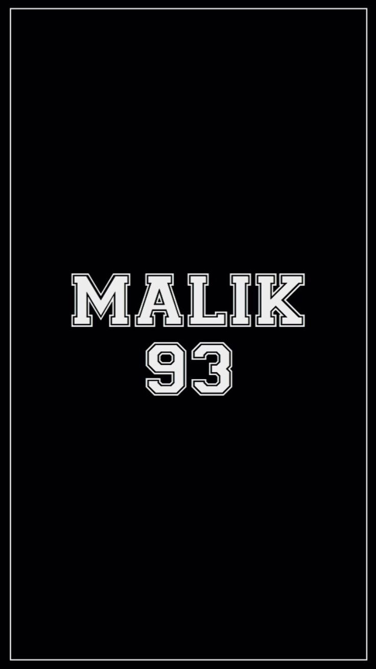 For all those mrs. Malik's out there. Such as myself