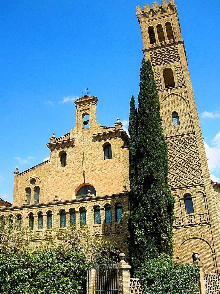 ANTIGUO MONASTERIO MUDEJAR DE COGULLADA - Zaragoza (Aragón)