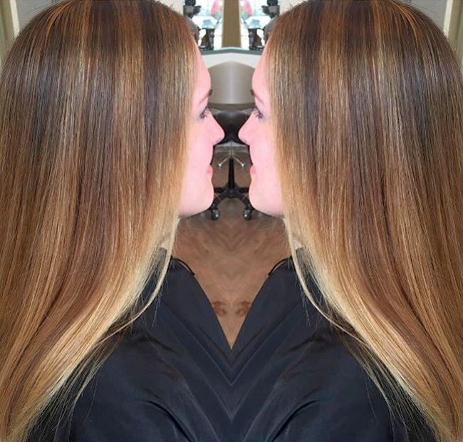 cool Мелирование на темные волосы: фото до и после