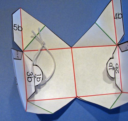 rubber band pop up cube