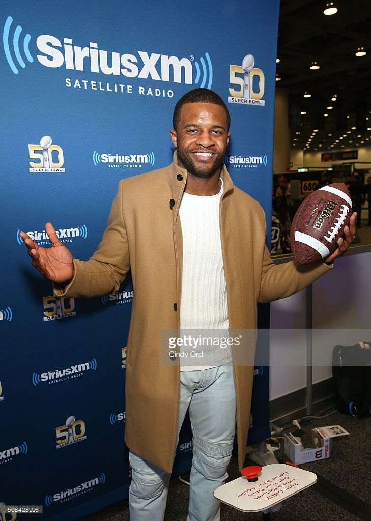Randall Cobb of the Green Bay Packers attends SiriusXM at Super Bowl 50 Radio Row at the Moscone Center on February 4, 2016 in San Francisco, California.