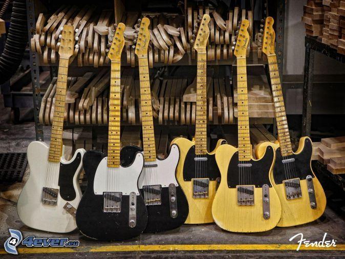 elektrické gitary