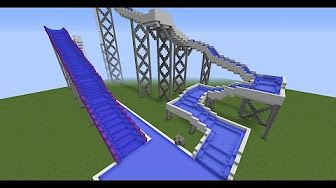 (99) Coolest Minecraft Rollercoaster: Pacific Coaster (HD) - YouTube