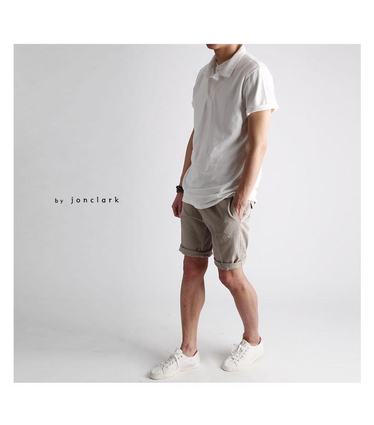 PK 여름 반팔카라티-kt03 - [존클락]30대 남자옷쇼핑몰, 깔끔한 캐쥬얼 데일리룩, 추천코디
