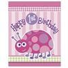 First Birthday Ladybug Loot Bags