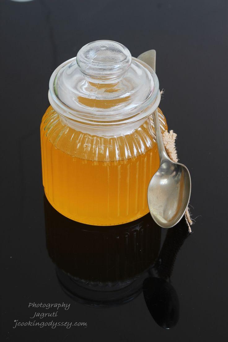 Homemade Desi Ghee - Homemade Clarified Butter