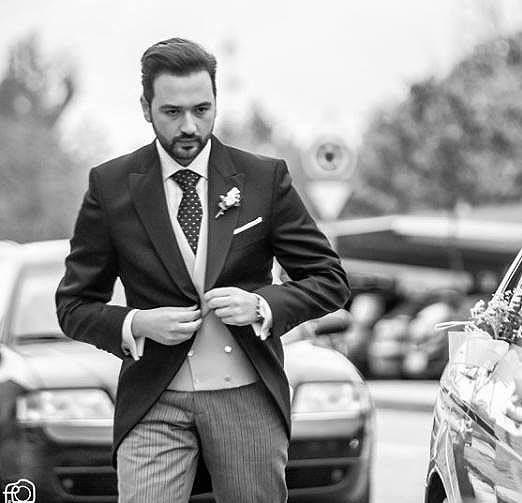 Nuestro estimado cliente Juan Luis, todo un gentleman al más puro #estilo Brit! #Chaqué clásico de la colección #Gentleman. ¡Felicidades!