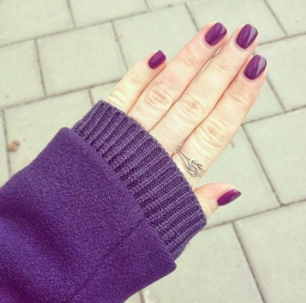Indigo Violet - gellack by depend | Peches mignons