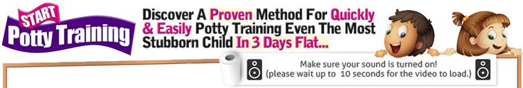 Free Potty Training In 3 Days Video - remember to buy when potty training Madi!