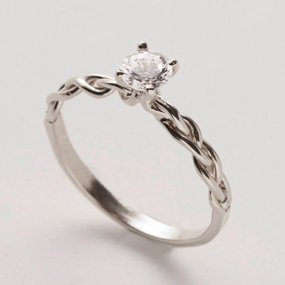 17 Best images about Simple engagement rings on Pinterest