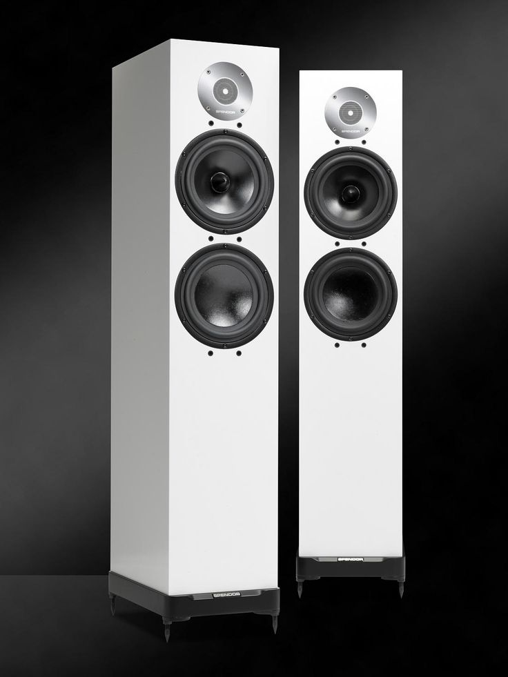 Spendor D7 - spendor white . The Spendor LPZ tweeter is built around a stainless steel front plate that forms an acoustic chamber directly in front of the lightweight diaphragm. The phase correcting microfoil equalises sound wave path lengths whilst generating a symmettrical pressure environment so the tweeter operates in a balanced linear mode. The D7 mid-bass drive unit has an advanced EP77 polymer cone, whilst the low frequency drive unit uses a bonded Kevlar composite.