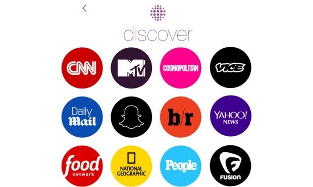 Snapchat Discover: partners include Daily Mail, Vice and Yahoo