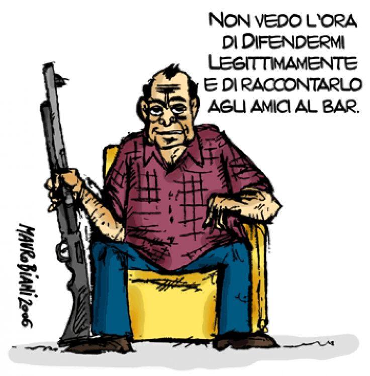 Omicidio legalizzato o legittima difesa.