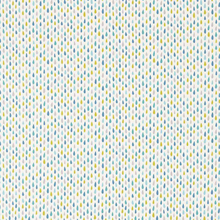Splish Splash Fabric - Citrus/Ocean/Lagoon (120452) - Scion Guess Who? Fabrics Collection