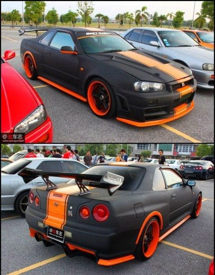 Nissan Skyline GTR R34   #Follow me on Cars World If You Like What You See 4 Way More ! ¡ !