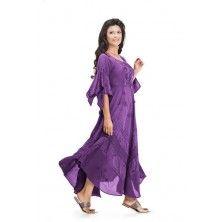 Purple Passion Belladonna Peasant Bustier Empire Waist Gypsy Boho Corset Dress