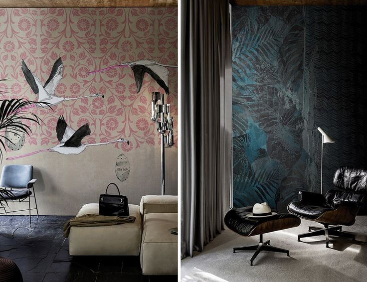 8 Exotic Wallpapers I Love - decor8