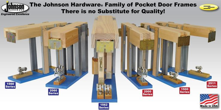 Johnson Pocket Door Track