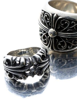 Chrome Hearts rings. If only they weren't so expensive :(
