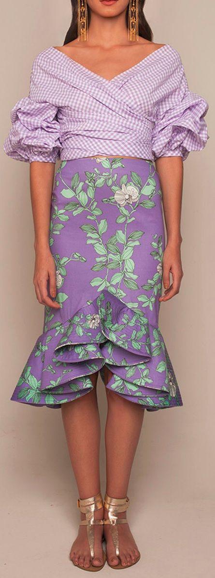 Johanna Ortiz Rosemary Top & Bellflower Skirt