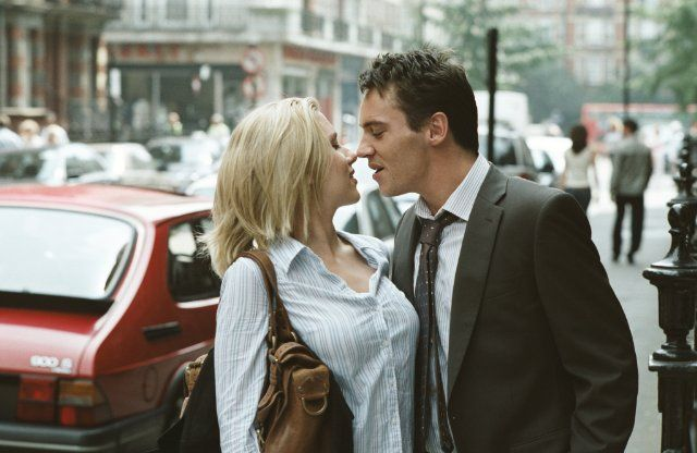 "Jonathan Rhys Meyers and Scarlett Johansson in ""Match Point"" (2005), directed by Woody Allen."