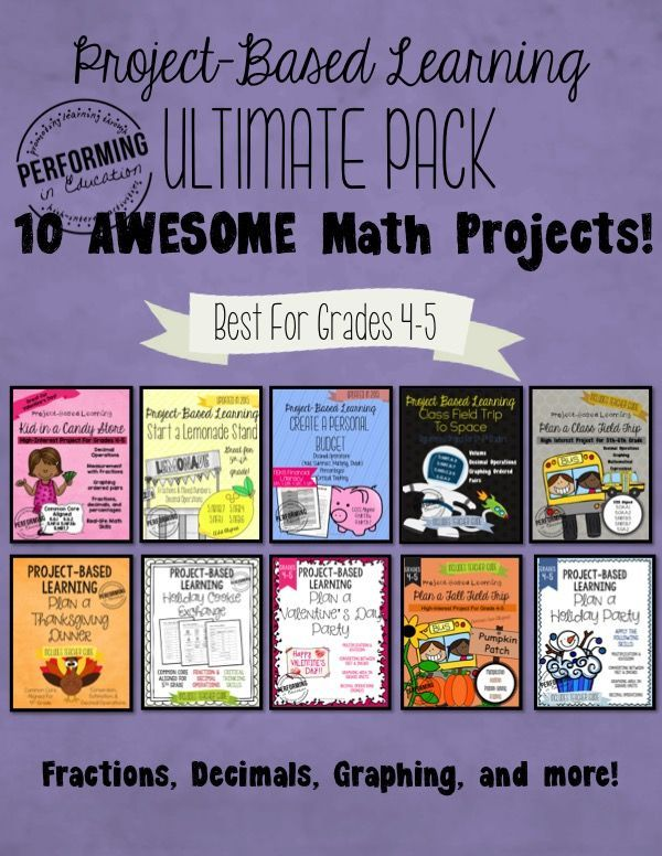 Classroom Design Project Based Learning ~ Project based learning ideas for th grade math