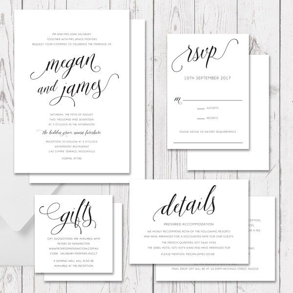 92 best wedding invitations images on pinterest beautiful