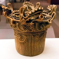 As time passed on Okinawa Jomon pottery became much more elaborate. 8 -10,000 BC