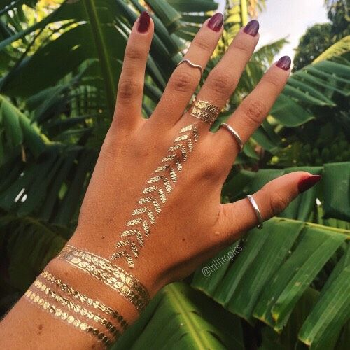 DIY Temporary Tattoos | Great For Coachella! #Beauty #Musely #Tip