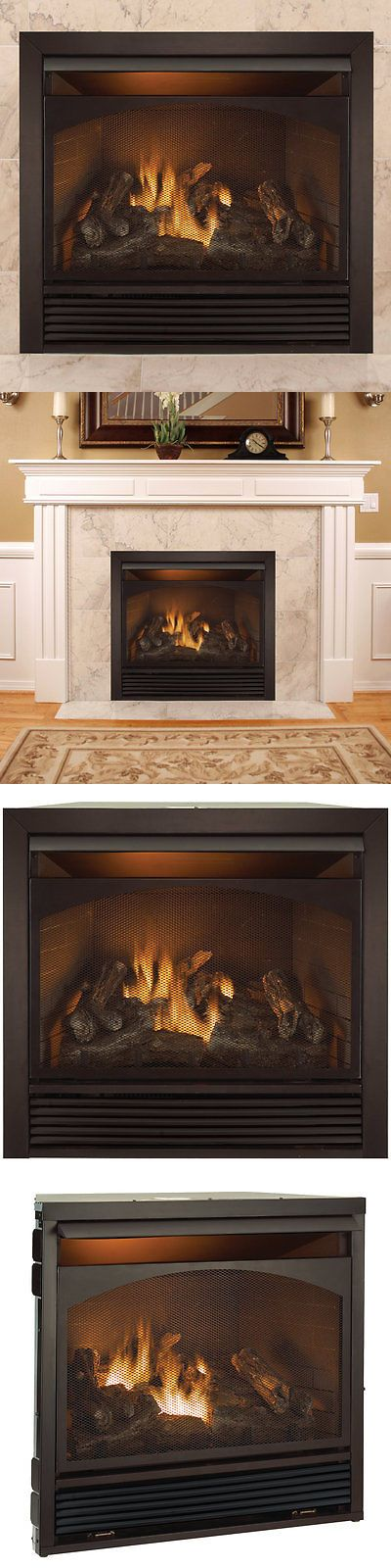 Fireplaces 175756: Duluth Forge Full Size Dual Fuel Ventless Natural Gas Propane Fireplace Insert -> BUY IT NOW ONLY: $749.99 on eBay!