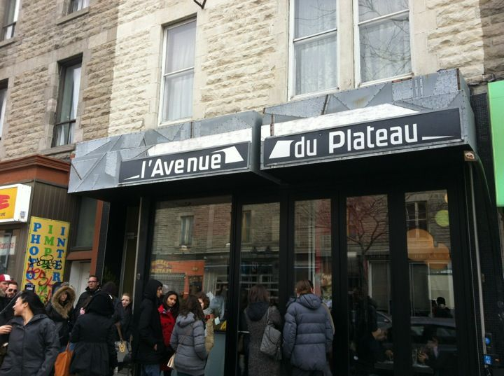 Restaurant L'Avenue in Montreal, QC