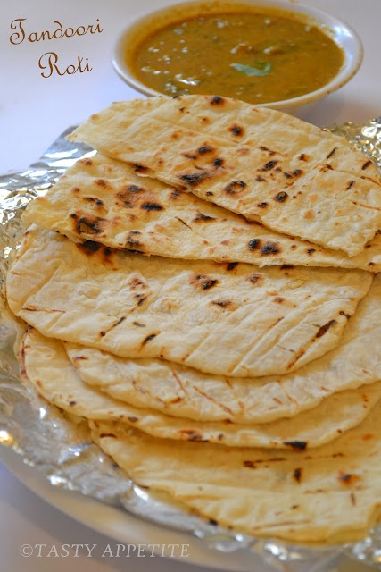 How to make Tandoori Roti at home  easy recipe..:)  http://tastyappetite.blogspot.in/2012/05/how-to-make-tandoori-roti-at-home.html
